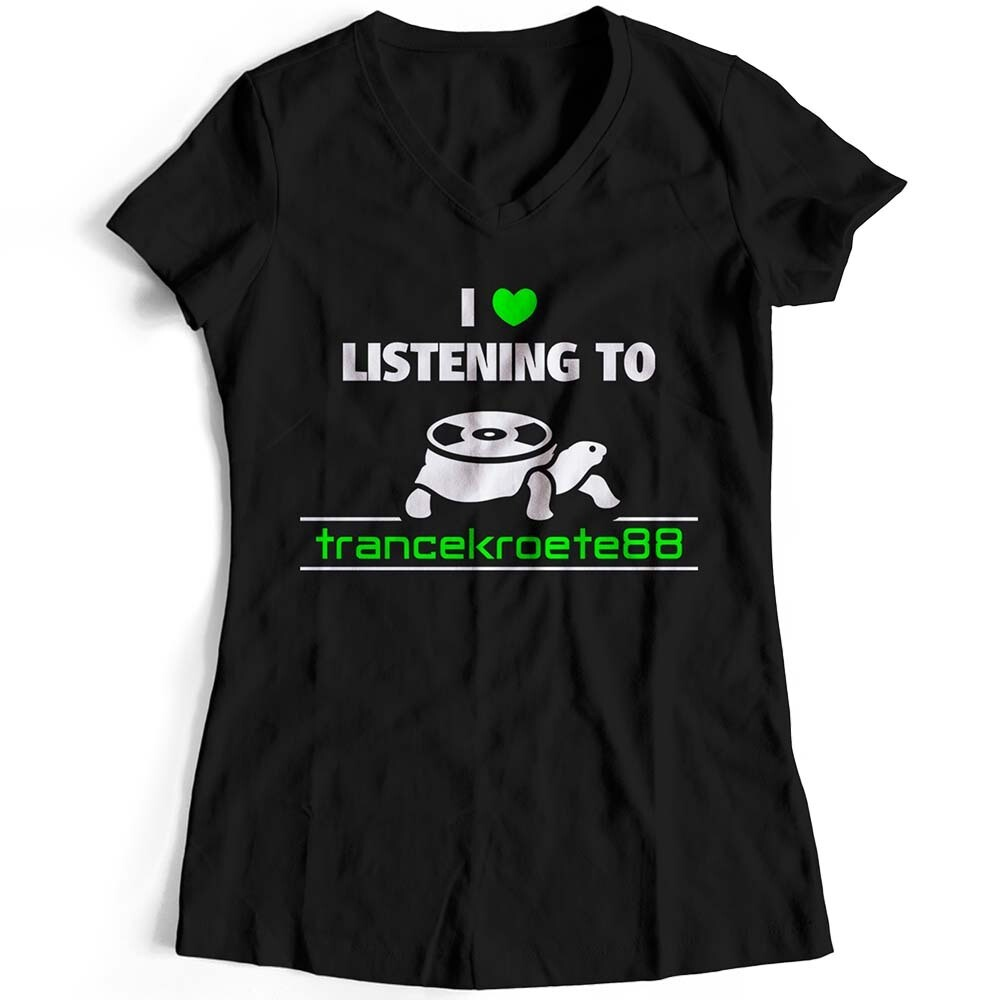 I love listening to Trancekroete88 T-Shirt (Duo Color / Women)