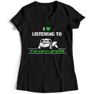 I love listening to Trancekroete88 T-Shirt (Duo Color / Women)