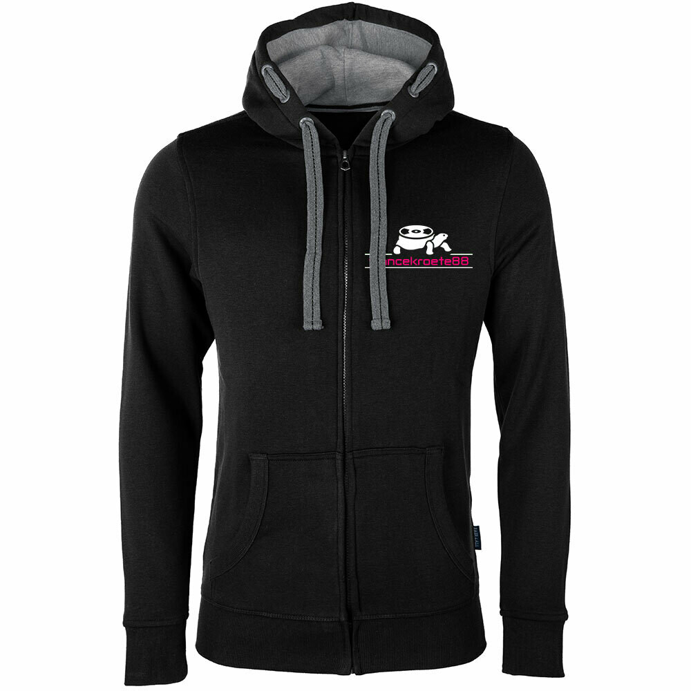 Trancekroete88 Luxury Zip-Hoodie (Duo Color / Unisex)