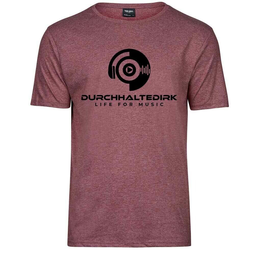 Durchhaltedirk Melange Premium T-Shirt (Men)
