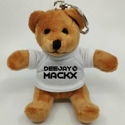 Deejay Mackx Mini-Teddybär mit Schlüsselring