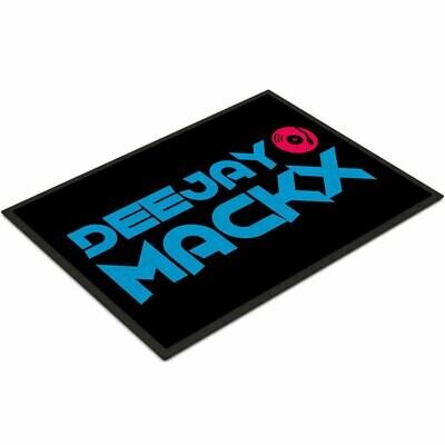 Deejay Mackx Fußmatte (Größe 35 x 50 cm)