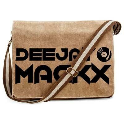 Deejay Mackx Vintage Messenger Bag