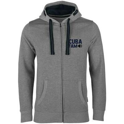 C.U.B.A. FAM Luxury Zip-Hoodie (Unisex)