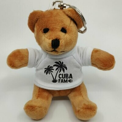 C.U.B.A. FAM Mini-Teddybär mit Schlüsselring