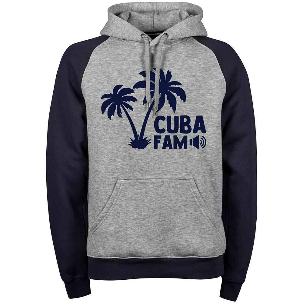 Cuba Fam Two-Tone Hoodie (Unisex)