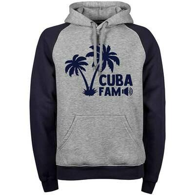 C.U.B.A. FAM Two-Tone Hoodie (Unisex)