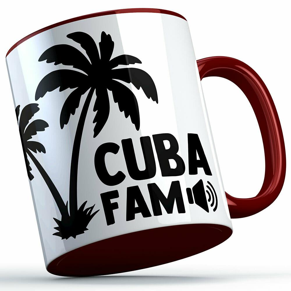 Cuba Fam Two-Tone Tasse