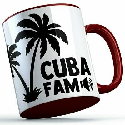 C.U.B.A. FAM Two-Tone Tasse