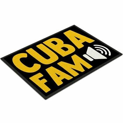 C.U.B.A. FAM Fußmatte (Größe 35 x 50 cm)