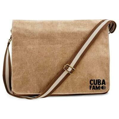 Cuba Fam Vintage Messenger Bag