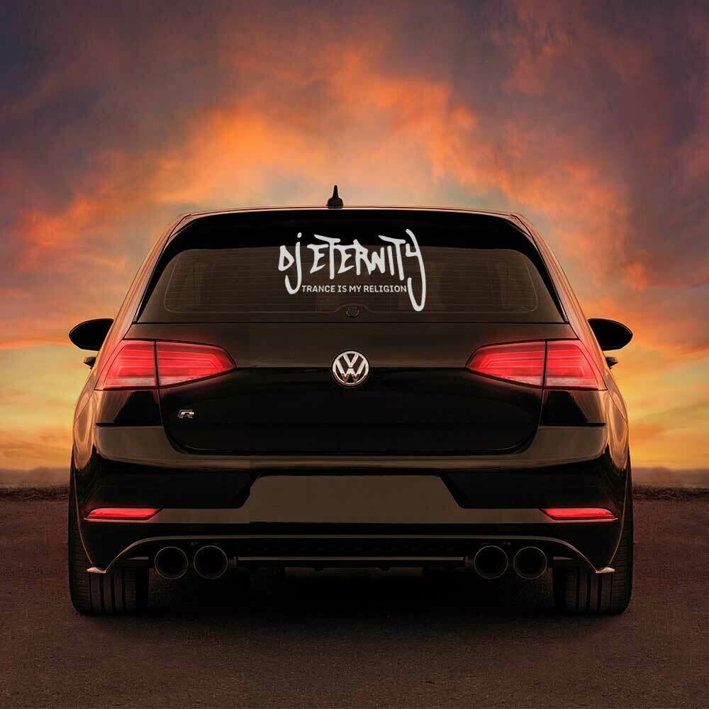 DJ Eternity XXL-Aufkleber (erhältlich in verschiedenen Varianten)