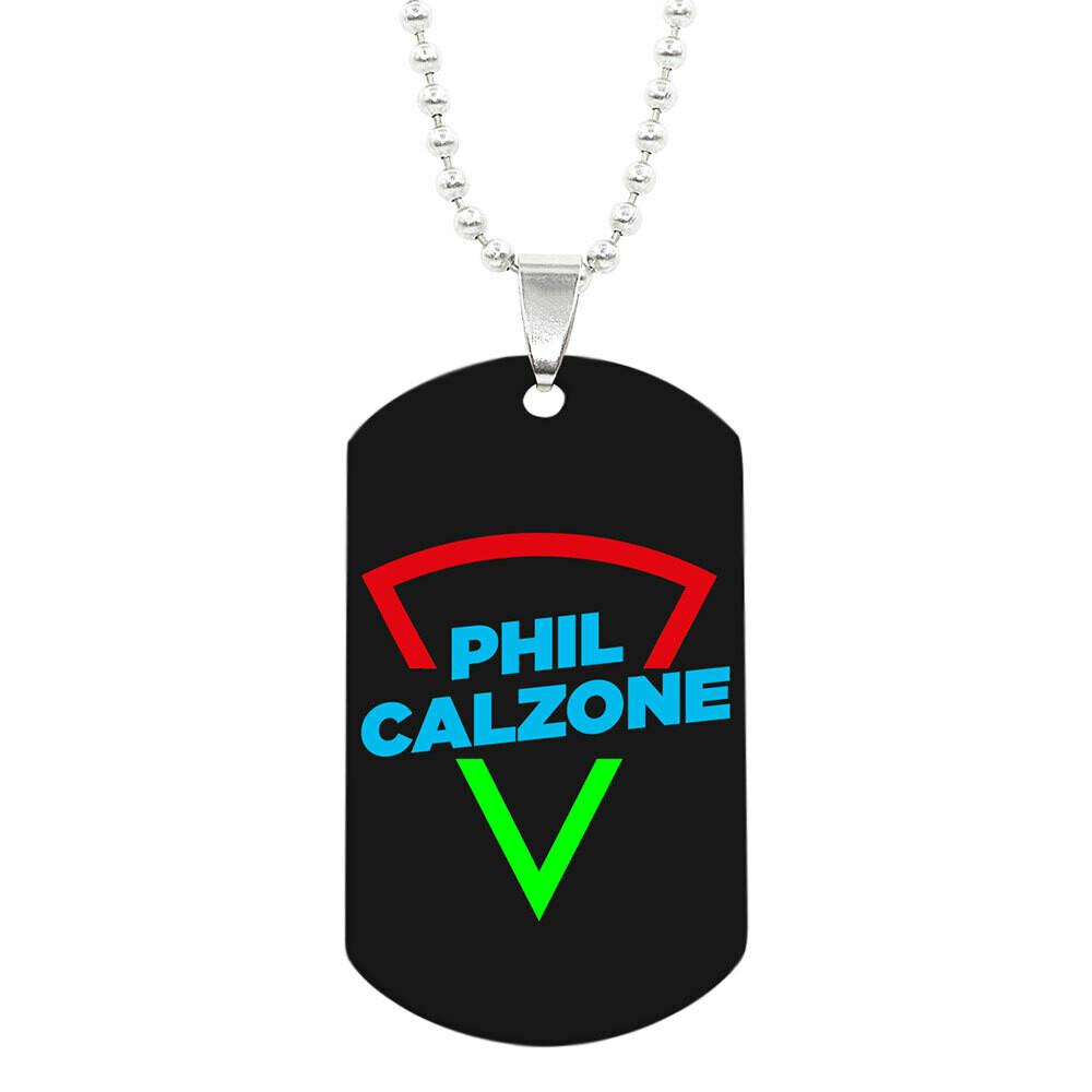 Halskette mit Phil Calzone ID-Tag Anhänger