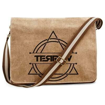 Terra V Vintage Messenger Bag