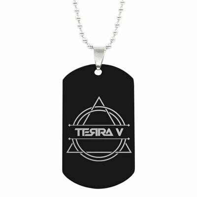 Halskette mit Terra V ID-Tag Anhänger