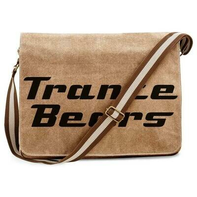 Trance Bears Vintage Messenger Bag
