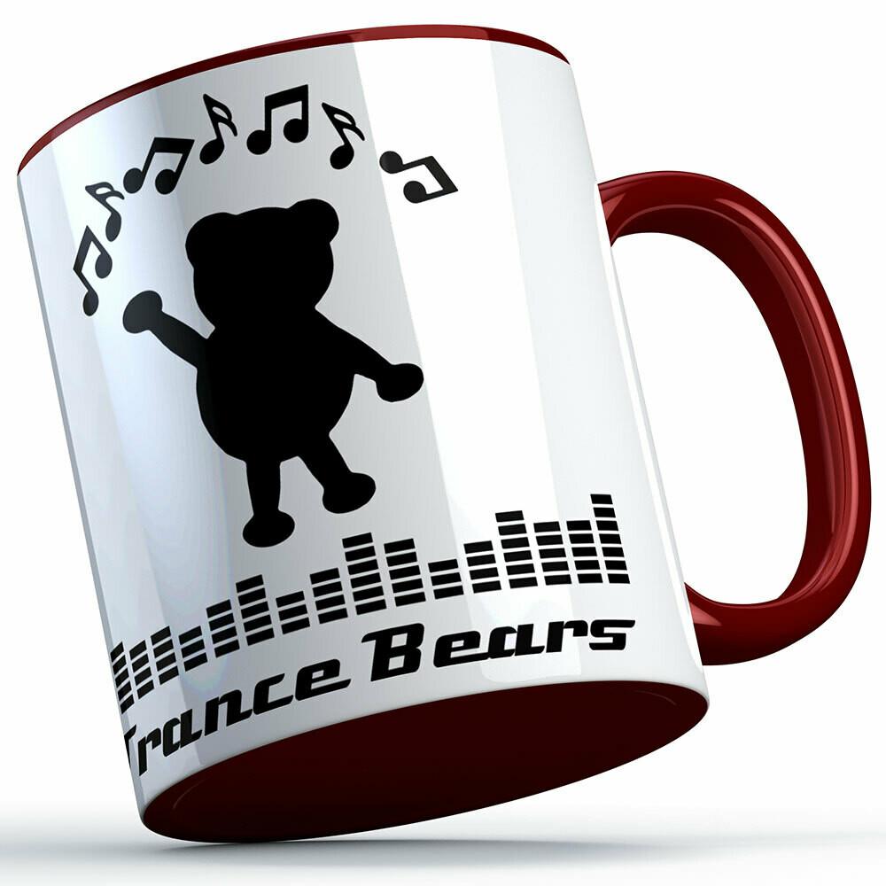 Trance Bears Two-Tone Tasse