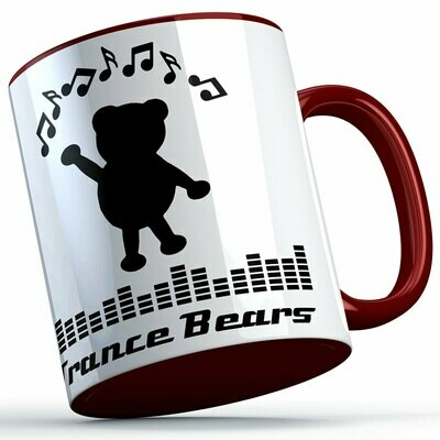 Trance Bears Two-Tone Tasse