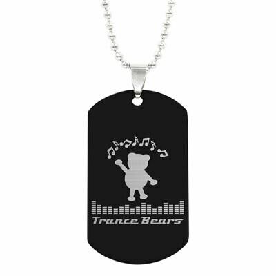 Halskette mit Trance Bears ID-Tag Anhänger