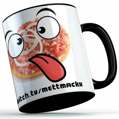 MettMackx Emote-Tasse (erhältlich in vier Varianten)