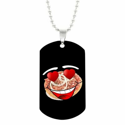 Halskette mit MettMackx Emote ID-Tag Anhänger