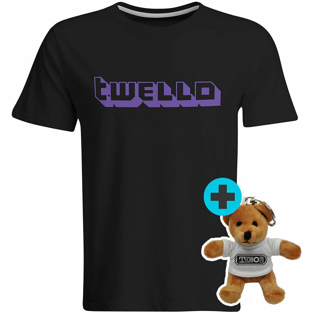 Technoclub Twello T-Shirt incl. Mini-Teddy (Men)