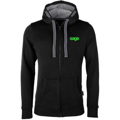 SAGE Luxury Zip-Hoodie (Unisex)