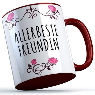 Allerbeste Freundin Tasse süße Sprüchetasse (5 Varianten)