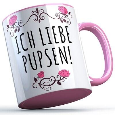Ich liebe pupsen Tasse lustige Sprüchetasse (5 Varianten)