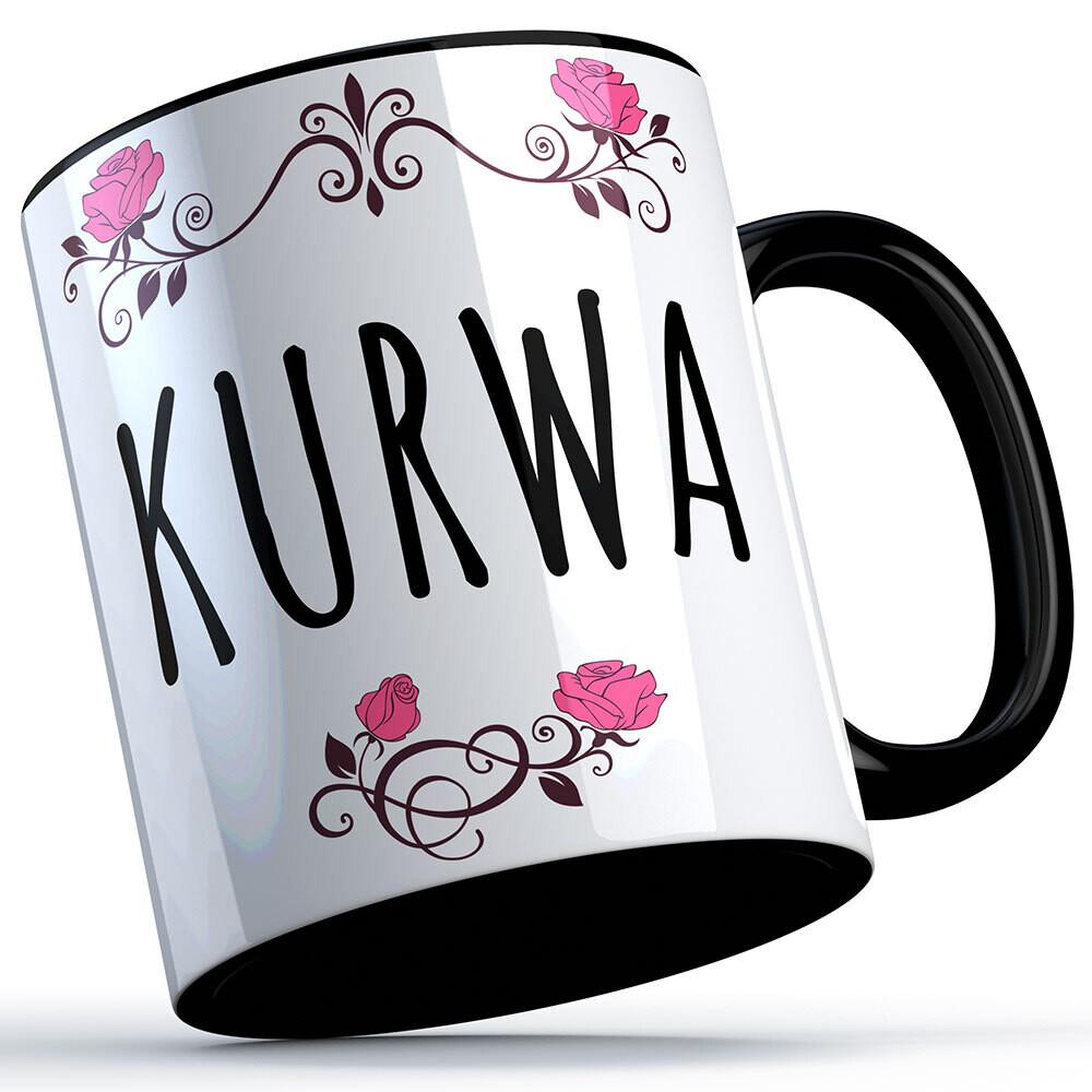 Kurwa Tasse lustige Sprüchetasse (5 Varianten)