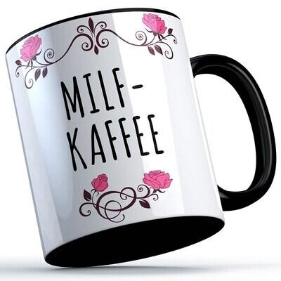 Milfkaffee Tasse lustige Sprüchetasse (5 Varianten)