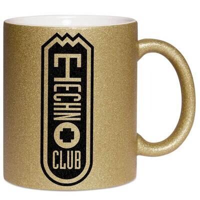Technoclub Luxury Glitter Mug