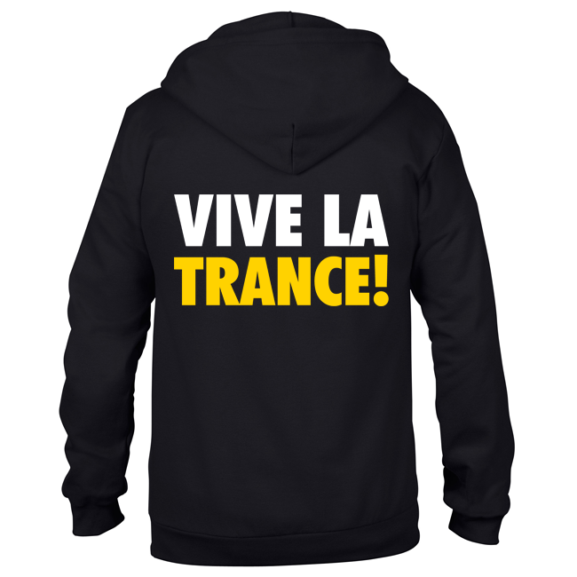 Vive La Trance! (#trancefamily Unisex Sweatjacket) M1-TFC  00051
