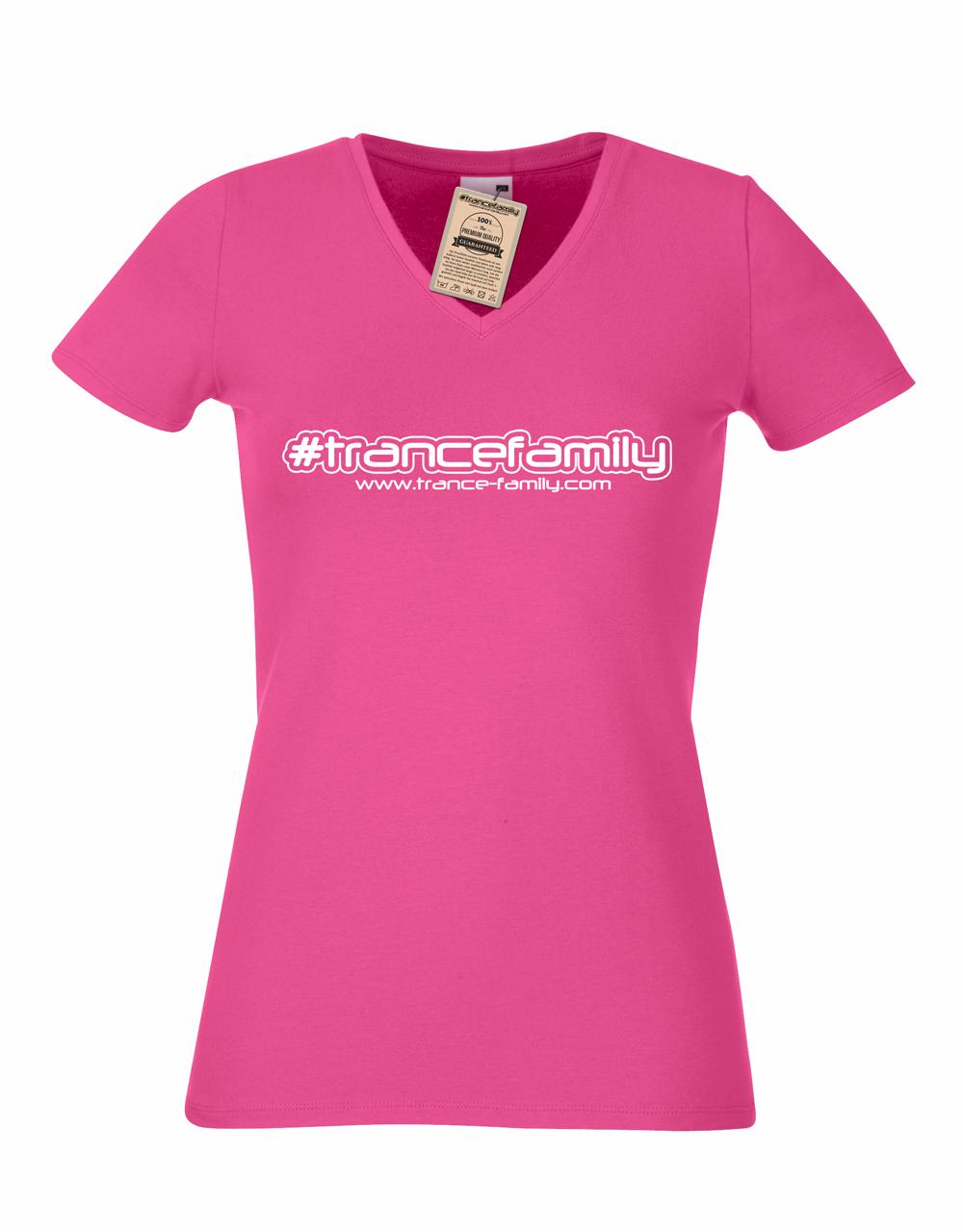 Trance-Family.com  (#trancefamily T-Shirt Women) M1-TFC  00083