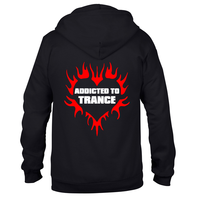 Addicted to Trance (Unisex Sweatjacket)
