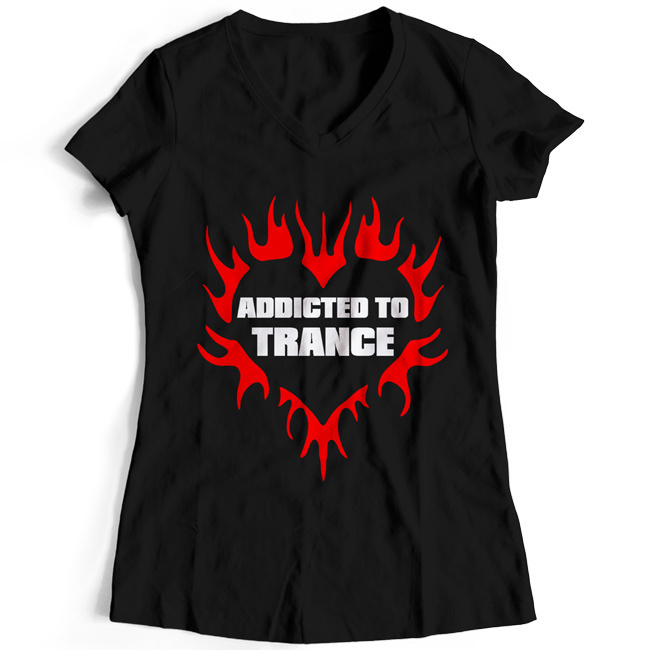 Addicted to Trance T-Shirt (Women) 00030