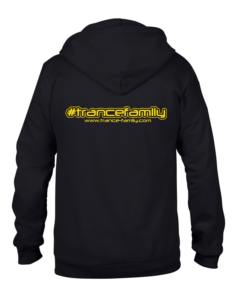 Trance-Family.com (#trancefamily Unisex Sweatjacket) M1-TFC  00082