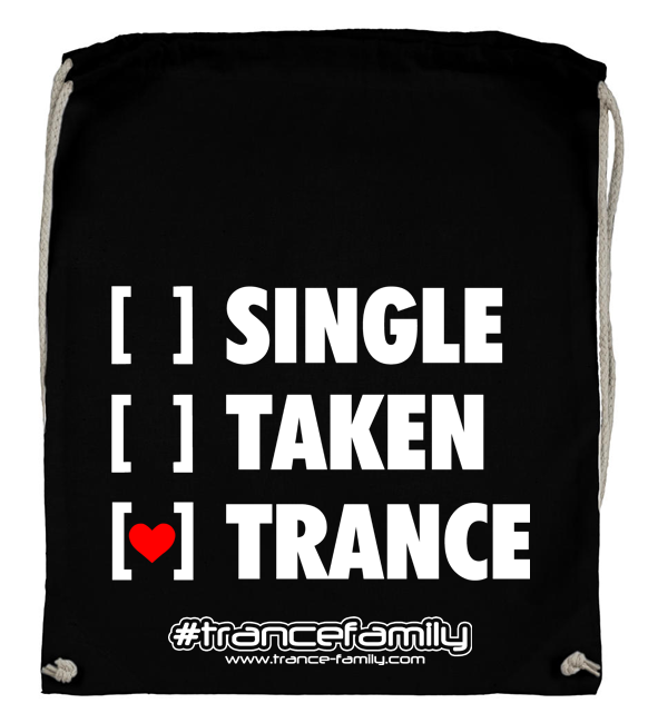 Single, Taken, Trance (#trancefamily Backpack) M1-TFC  00107