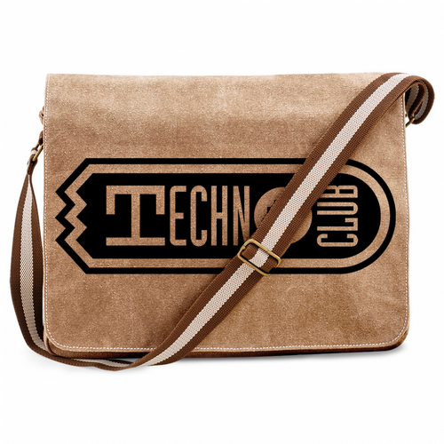 Technoclub Premium Messengerbag (Vintage Design) 00146