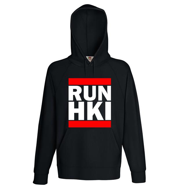 """""""RUN HKI"""" Hoodie (Unisex) M1-FT 00151"""