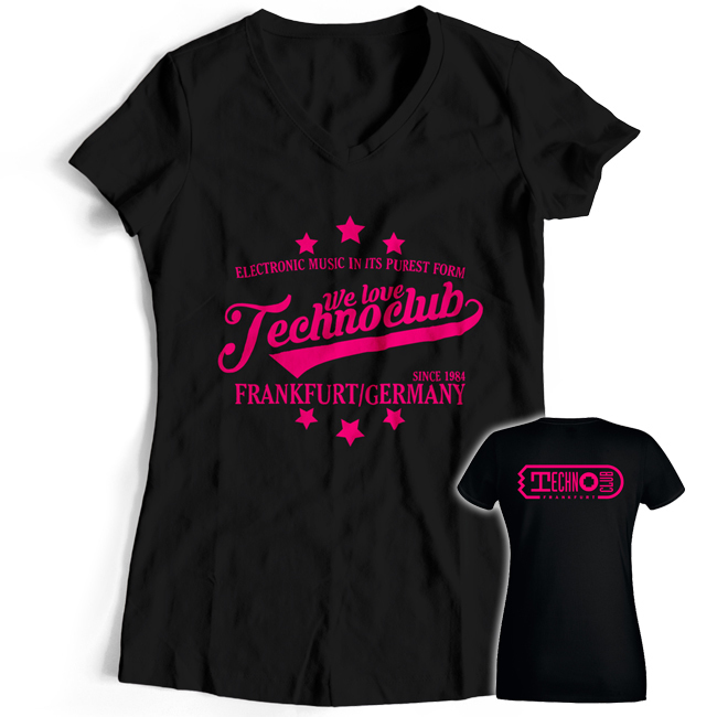 WLTC Technoclub T-Shirt 2016 (Back- & Frontprint) Women