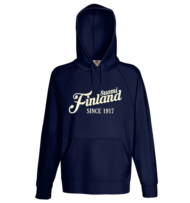 """""""Suomi Finland - since 1917"""" Hoodie (Unisex) M1-FT 00158"""