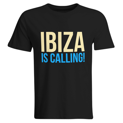 Ibiza is calling! (#trancefamily T-Shirt Men)