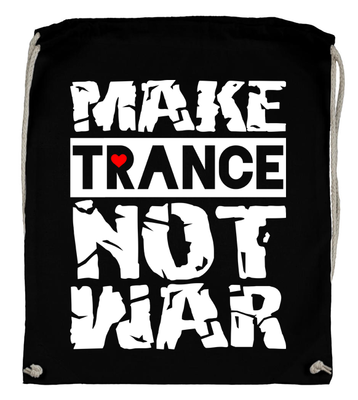 Make Trance not War (Backpack)