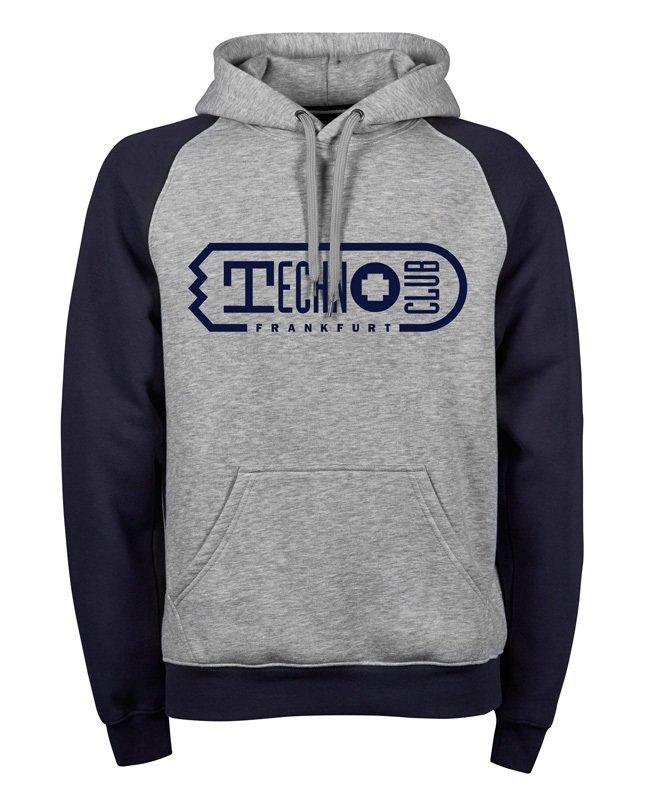 Premium Two-Tone Technoclub Frankfurt Hoodie (Unisex)