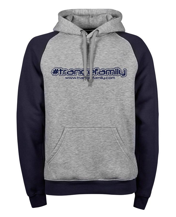 Trancefamily Two-Tone Premium Hoodie (Unisex) M1-TFC  00192
