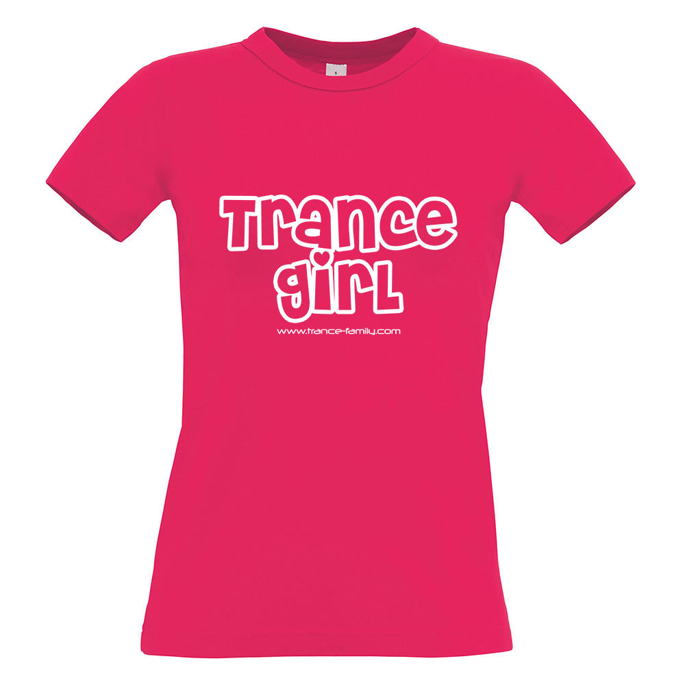 Trance Girl (#trancefamily T-Shirt Women) Edition 1 M1-TFC  00203