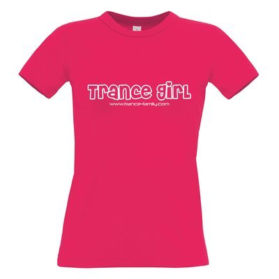 Trance Girl (#trancefamily T-Shirt Women) Edition 2
