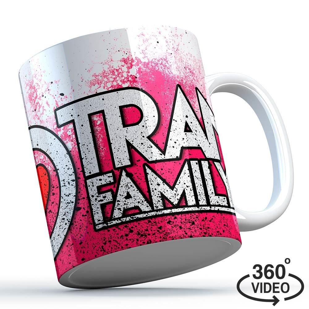 Trancefamily FFM Tasse (Pink Splash) 11141