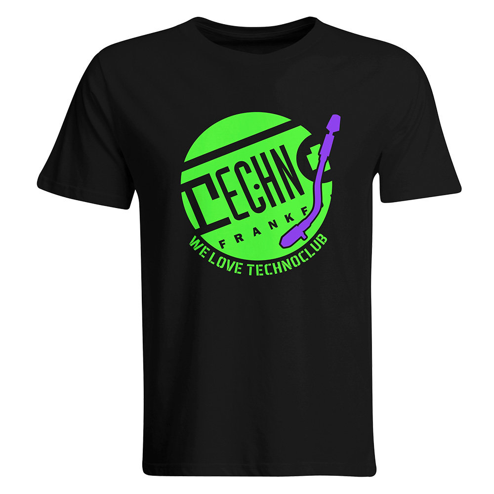We love Technoclub T-Shirt 2017 (Men)